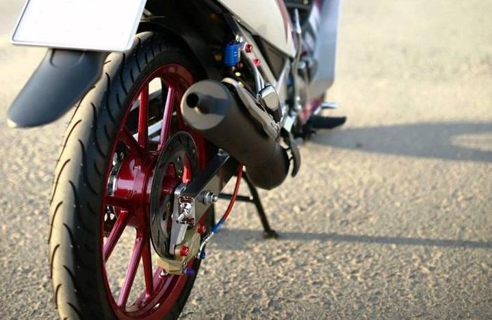 Yamaha Z125 do day an tuong va cuc chat tai Sai Thanh - 4