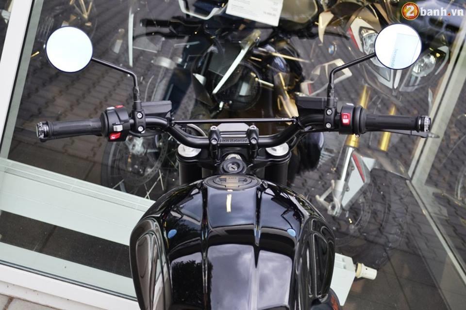 BMW R Nine T hut hon trong ban do Scrambler tu Martin Edition - 5