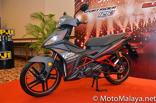 Can canh chi tiet SYM Sport Rider 125i vua duoc ra mat