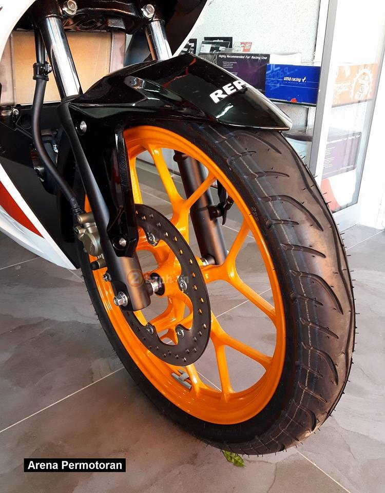 Can canh Winner 150 phien ban Repsol chinh hang - 10