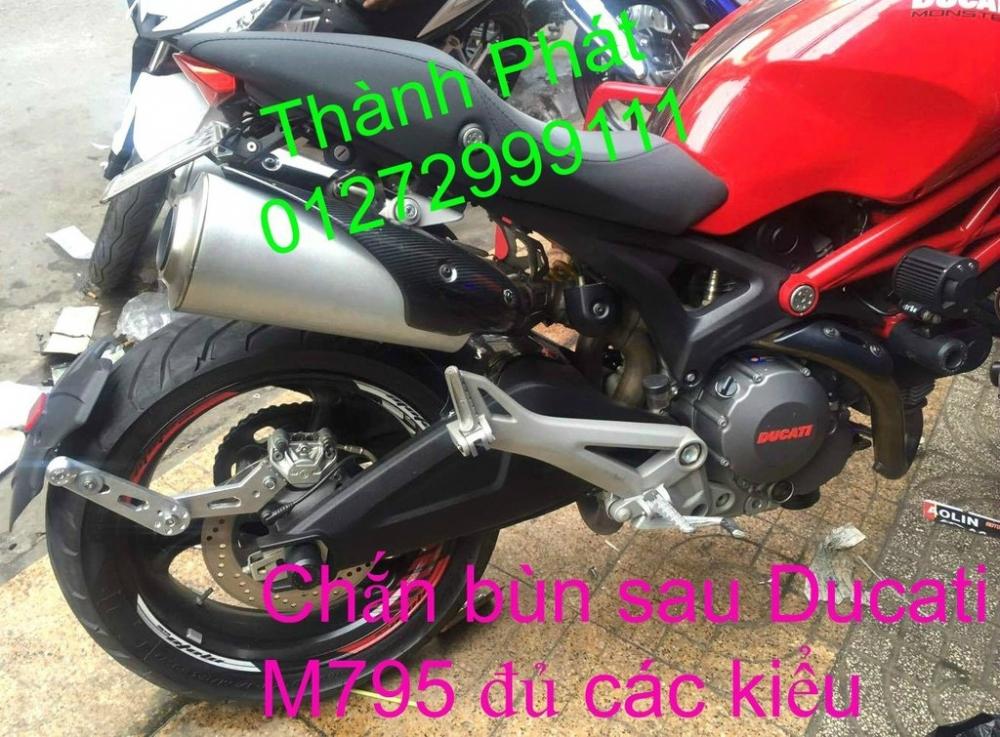 Chan bun sau che cho Z1000 2014 2012 Z800 CB1000 Hyperstrada motard M795 KTM Duke 125 200 B - 34