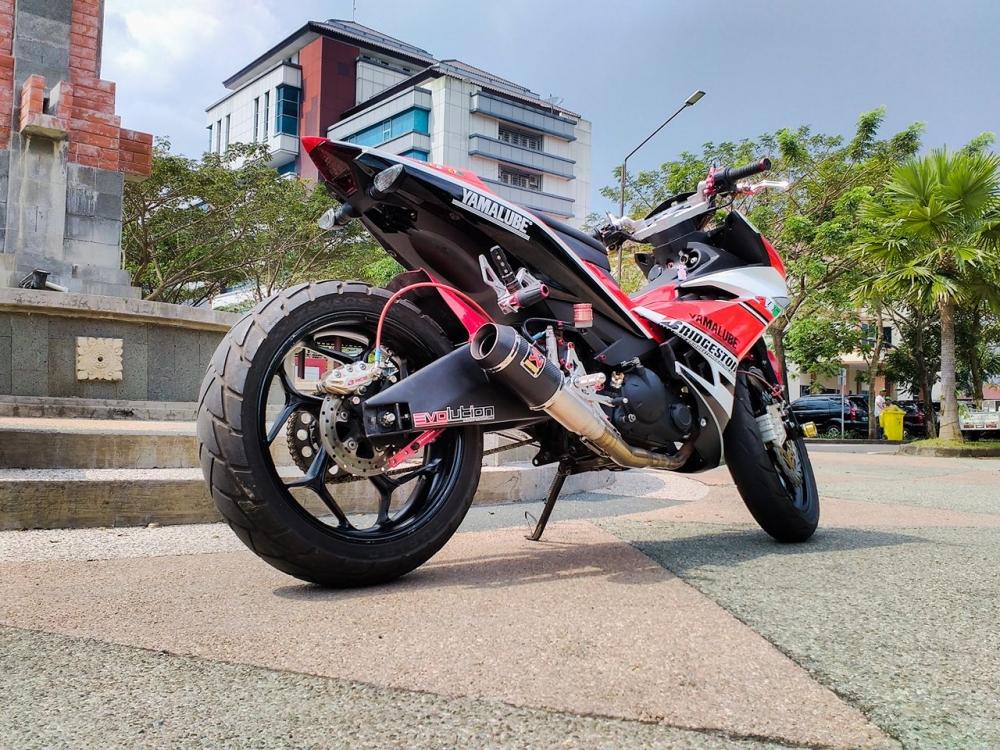 Chiec Exciter 135 do pha cach cua biker Viet - 5
