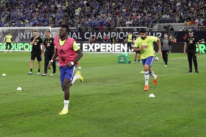 Cho xem tran dau hay cua thay tro Conte Chelsea vs AC Milan
