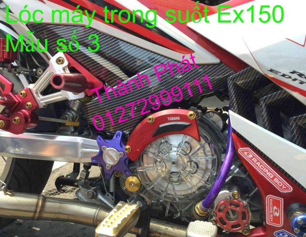 Do choi Exciter 150 tu A Z Po do Chan bun sau kieng kieu Bao tay Tay thang Xinhan kieu S - 49