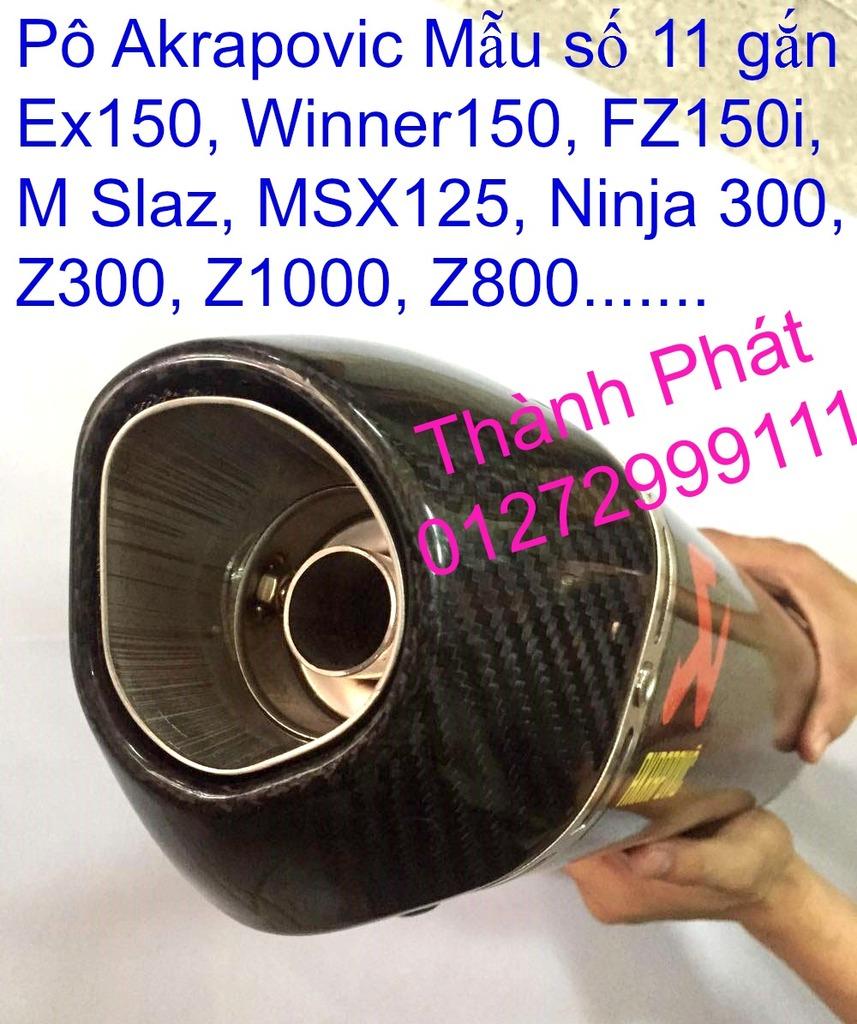 Do choi Exciter 150 tu A Z Po do Chan bun sau kieng kieu Bao tay Tay thang Xinhan kieu S - 5