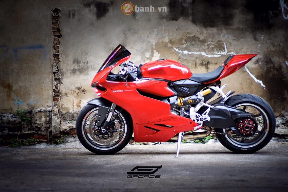 Ducati 899 Panigale goi cam va hap dan chang thua gi dan anh 1199 - 2