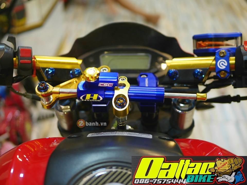 Ducati Monster do day an tuong trong phien ban minibike - 3