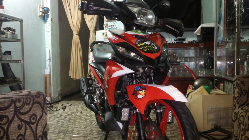 exciter 135 phong cach hoat hinh