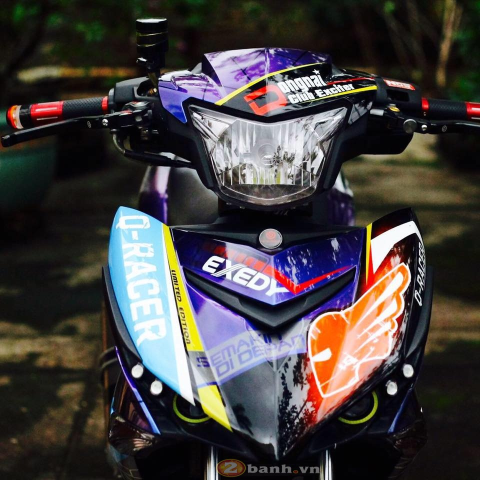 Exciter 150 QRacer Born to Different