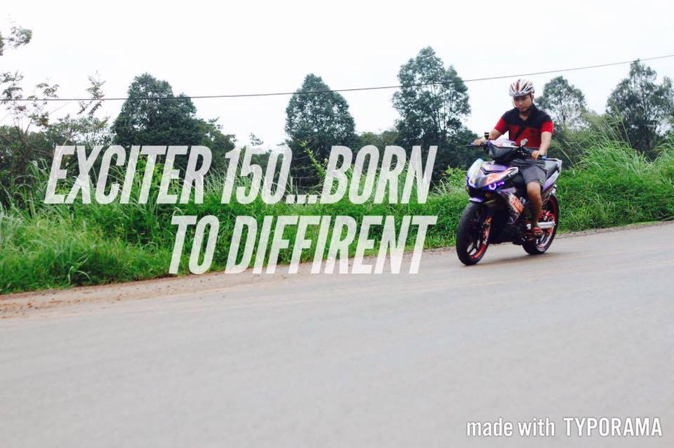 Exciter 150 QRacer Born to Different - 10