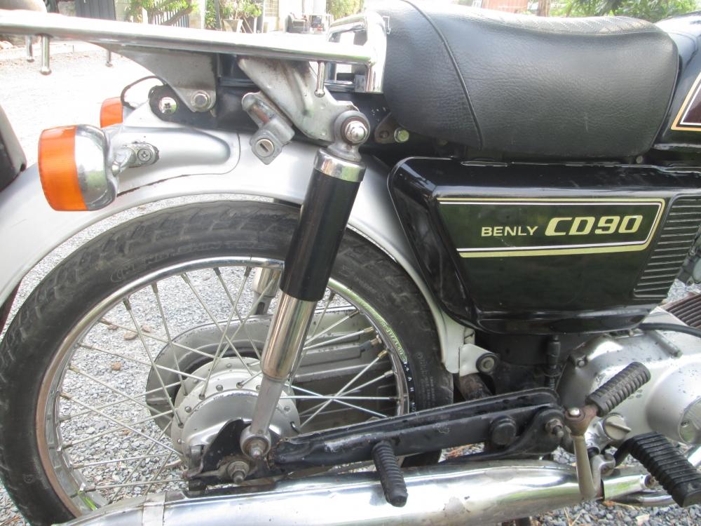 honda Cd90 benlys - 5