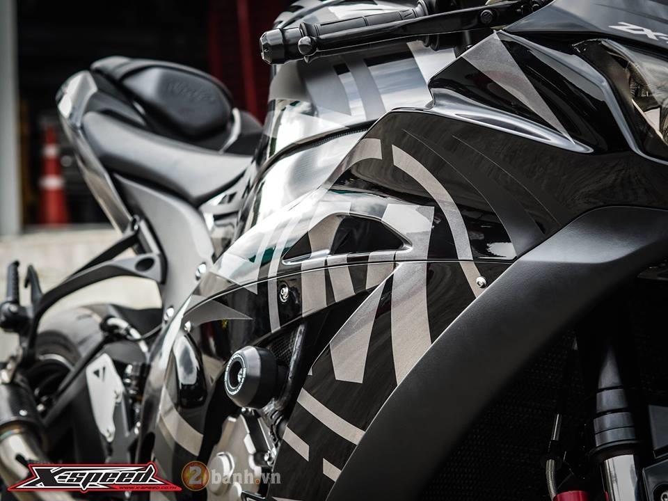Kawasaki Ninja ZX10R 2016 day phong cach trong ban do Black Max - 11