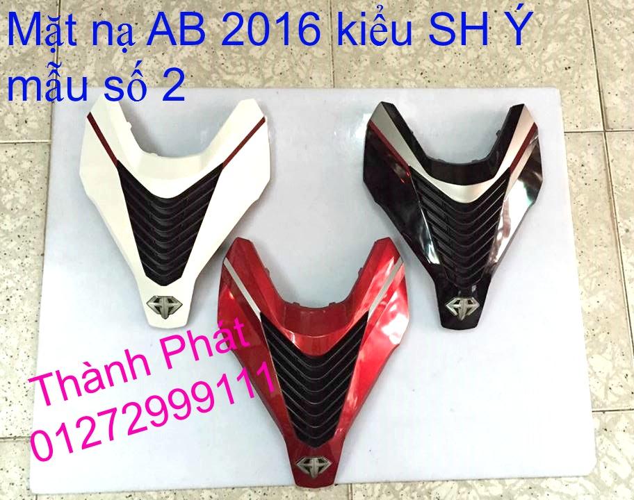 Mat na Vision 2014 AB 2016 Sh Mode Lead kieu SH Y Gia tot Up 13915