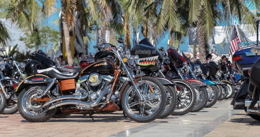 Nhung hinh anh tai Vietnam Bike Week 2016 ngay hoi mo to PKL lon nhat Viet Nam