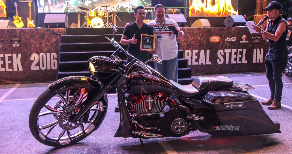 Nhung hinh anh tai Vietnam Bike Week 2016 ngay hoi mo to PKL lon nhat Viet Nam - 23