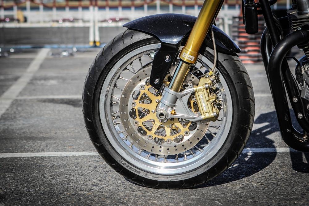 Norton Commando 961 Cafe Racer khoe dang tai Vietnam Bike Week 2016 - 8