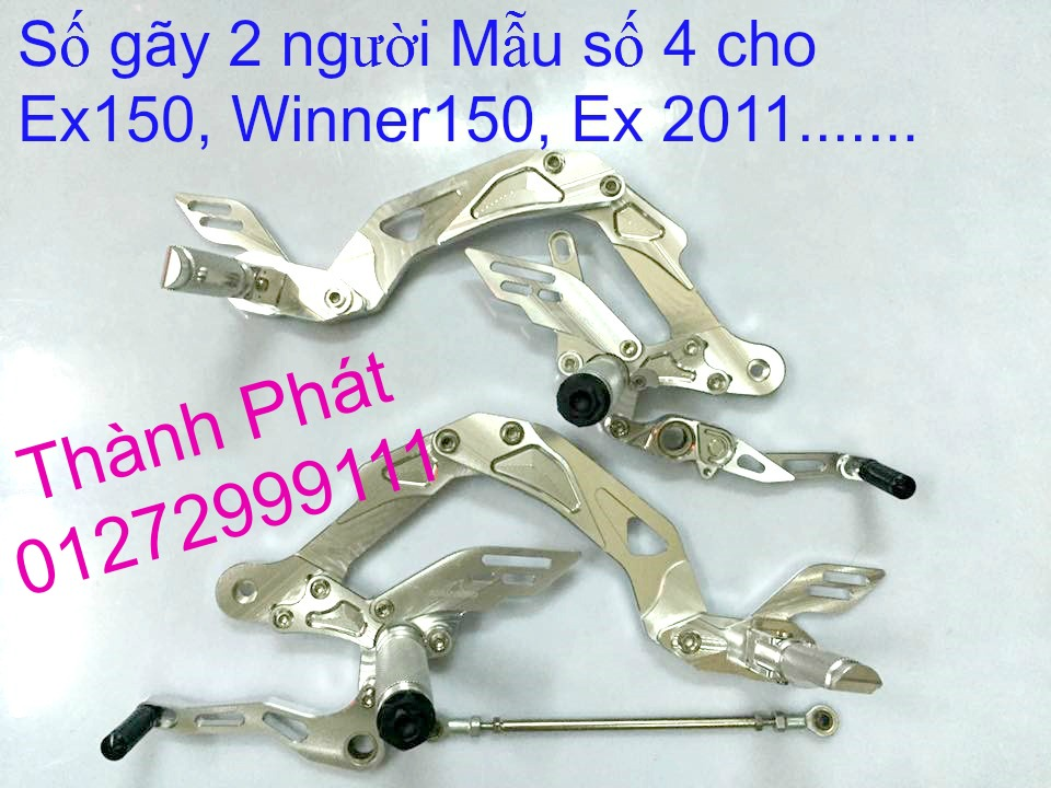 Do choi Exciter 150 tu A Z Po do Chan bun sau kieng kieu Bao tay Tay thang Xinhan kieu S - 16