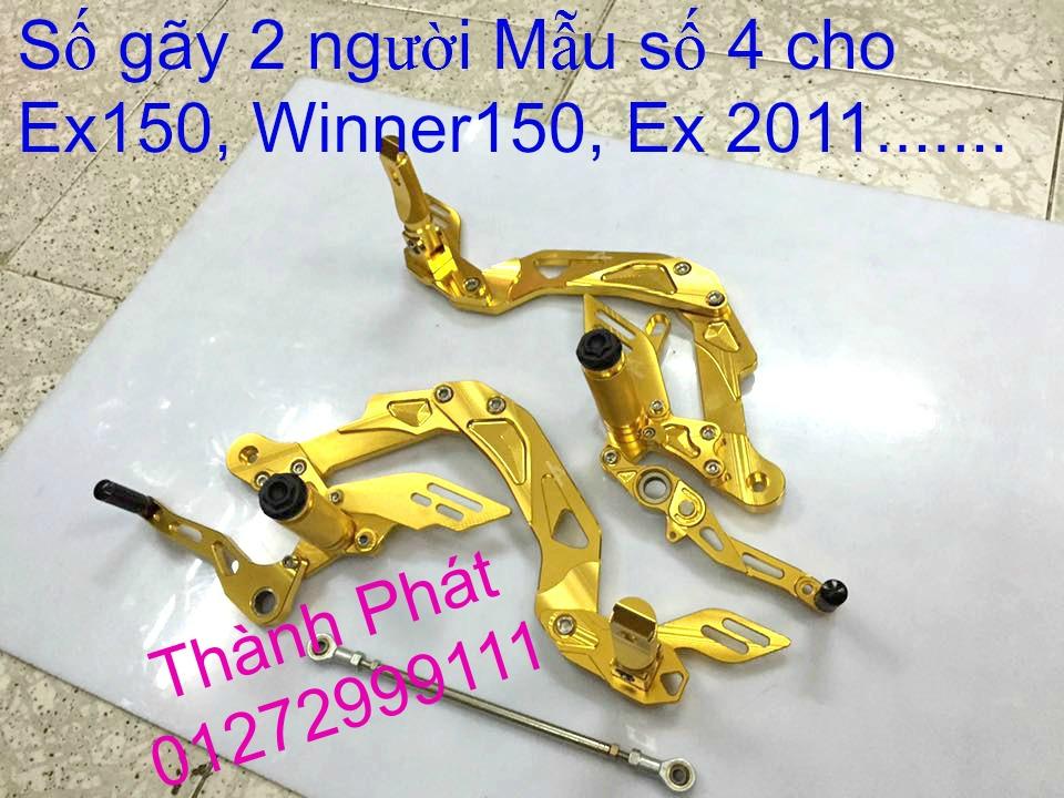 Do choi Exciter 150 tu A Z Po do Chan bun sau kieng kieu Bao tay Tay thang Xinhan kieu S - 19