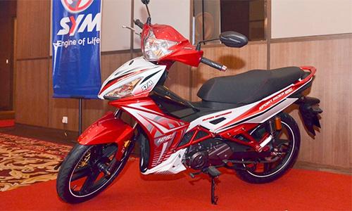 SYM Sport Rider 125i ra mat tai Malaysia