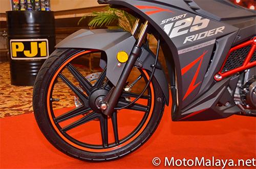 SYM Sport Rider 125i ra mat tai Malaysia - 5
