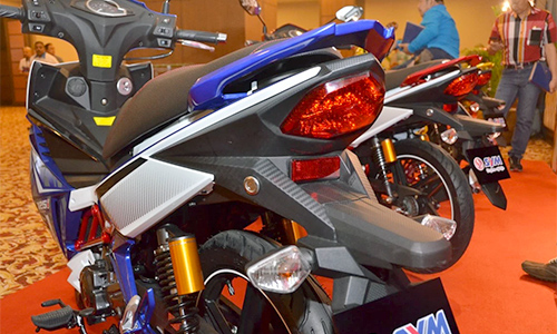 SYM Sport Rider 125i ra mat tai Malaysia - 8