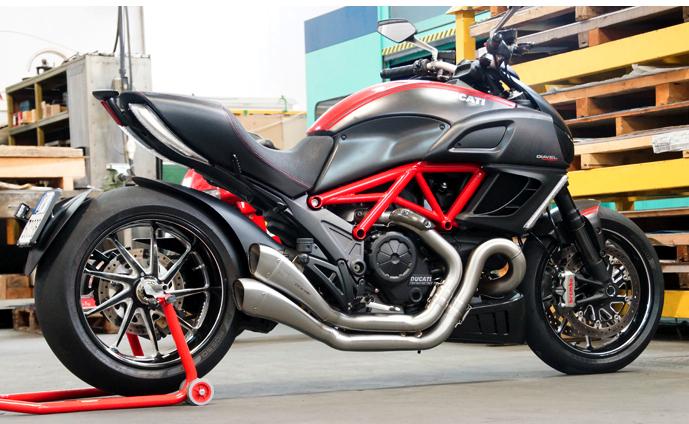 Thanh li po Hp Corse for Ducati Diavel