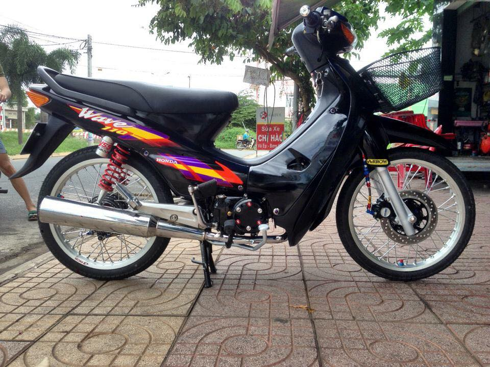 Wave 110 don nhe mang phong cach Thai