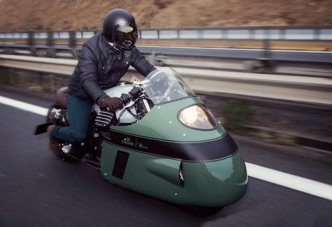 Moto Guzzi V8 do cuc chat cua dan choi phuong Tay