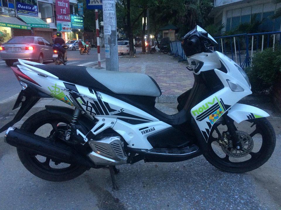 Yamaha Novo LX 135 mau trang doi chot tem caro 2011 - 6