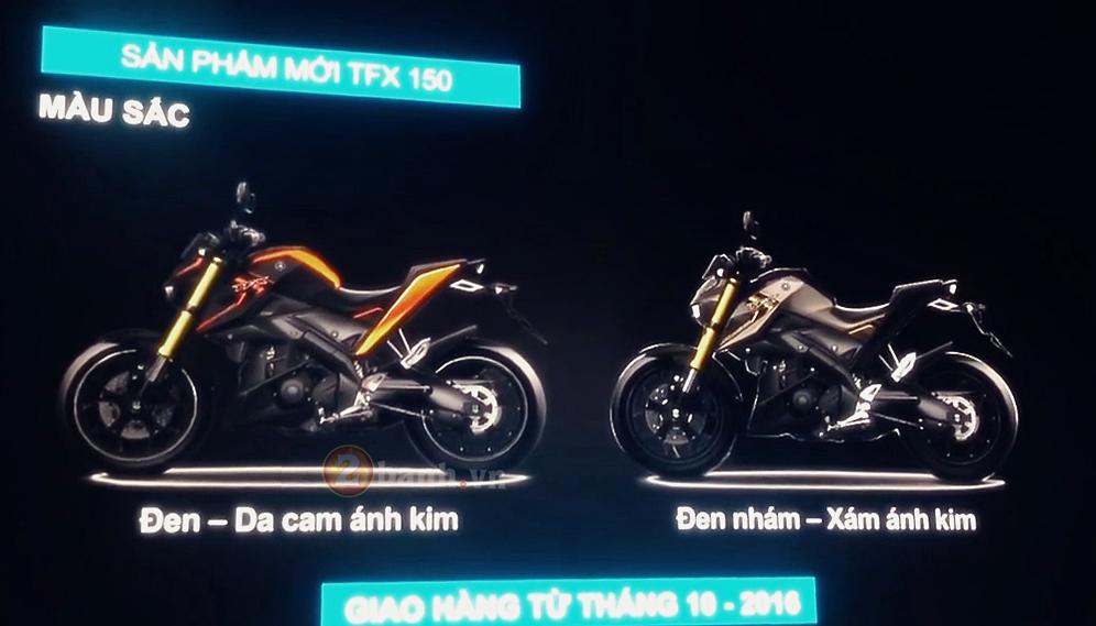 Yamaha TFX150 Clip ra mat va gioi thieu cac tinh nang cua xe - 5