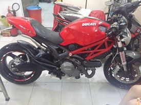 Ban Ducati Monster 795 HQCN date 2012 gia SV