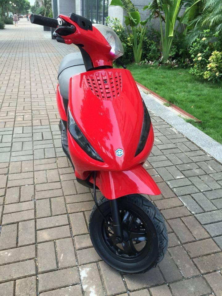 Ban piaggio Zip125 nhap y bien 29R mau do 105 trieu xe cuc dep nguyen ban