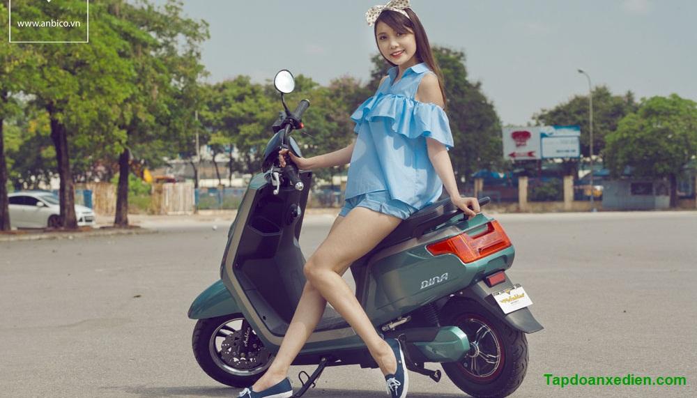 Ban xe may dien Dina chinh hang day du giay to bao hanh 3 nam - 2