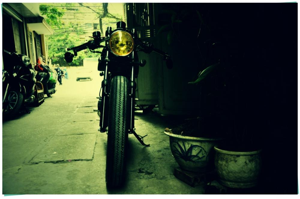 Ban xe Su GN125 do cafe racer - 10