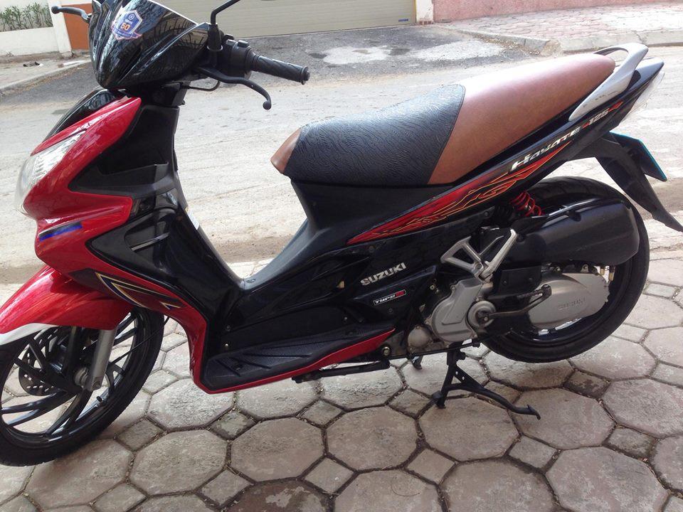 Can ban Suzuki Hayate 125cc 2010 do den bien HN 30Z may cuc phe xe van moi 12tr500 - 2