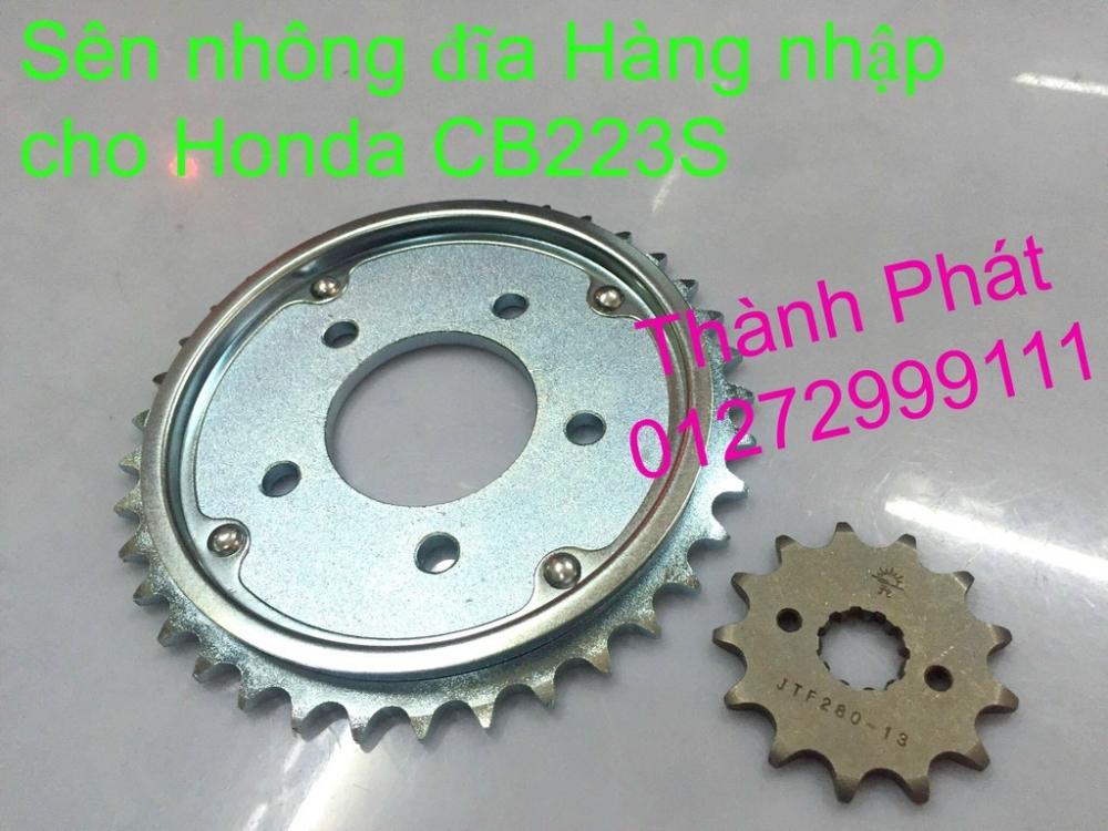 Chuyen phu tung zin va Sen Nhong Dia Honda CB250 CB125 RebeL LA 250 CD125 Yamaha Virago - 5