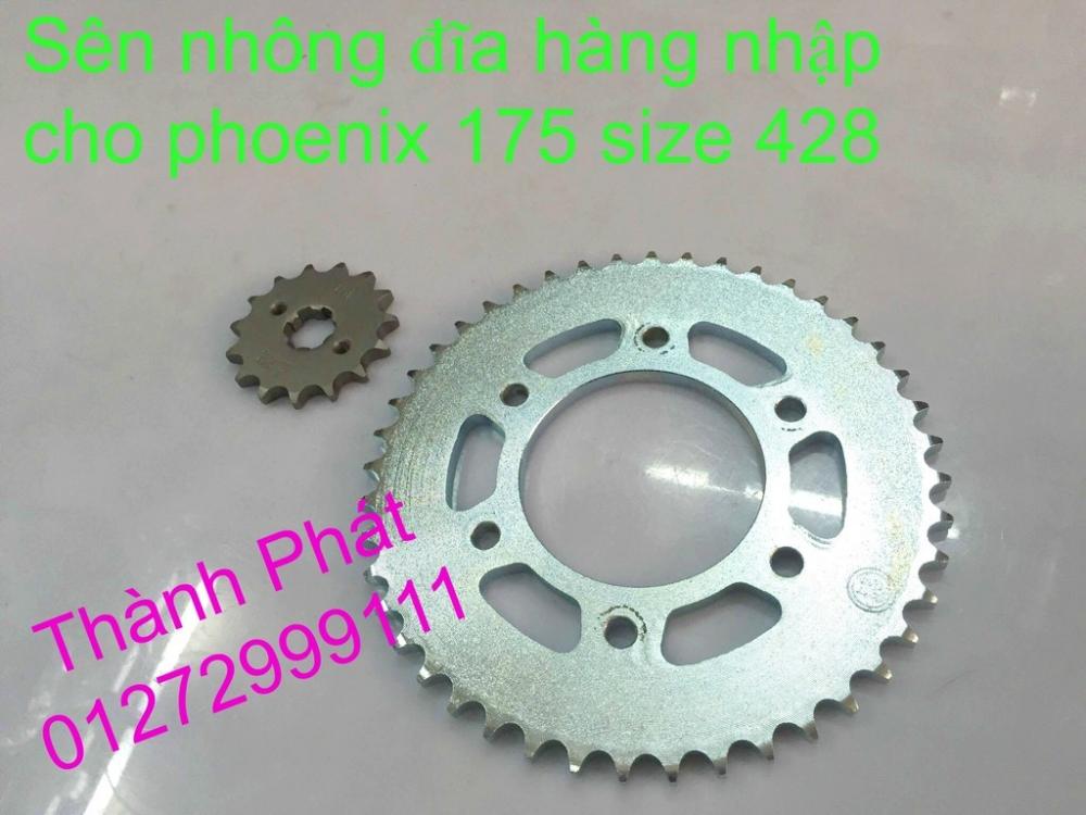 Chuyen phu tung zin va Sen Nhong Dia Honda CB250 CB125 RebeL LA 250 CD125 Yamaha Virago - 15