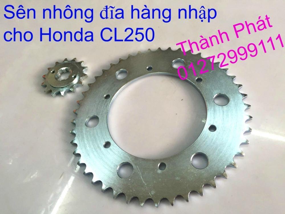 Chuyen phu tung zin va Sen Nhong Dia Honda CB250 CB125 RebeL LA 250 CD125 Yamaha Virago - 13