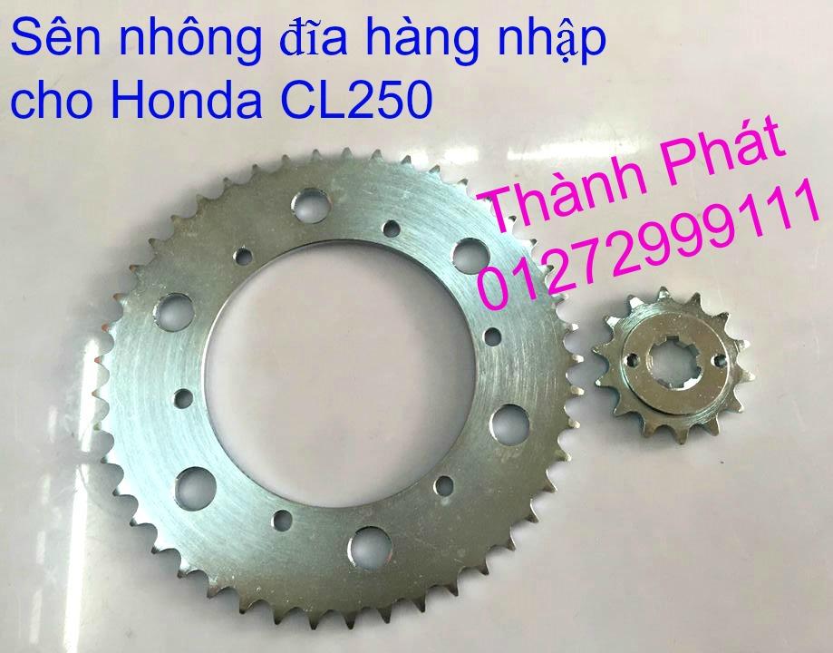 Chuyen phu tung zin va Sen Nhong Dia Honda CB250 CB125 RebeL LA 250 CD125 Yamaha Virago - 12