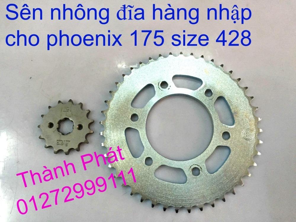 Chuyen phu tung zin va Sen Nhong Dia Honda CB250 CB125 RebeL LA 250 CD125 Yamaha Virago - 14