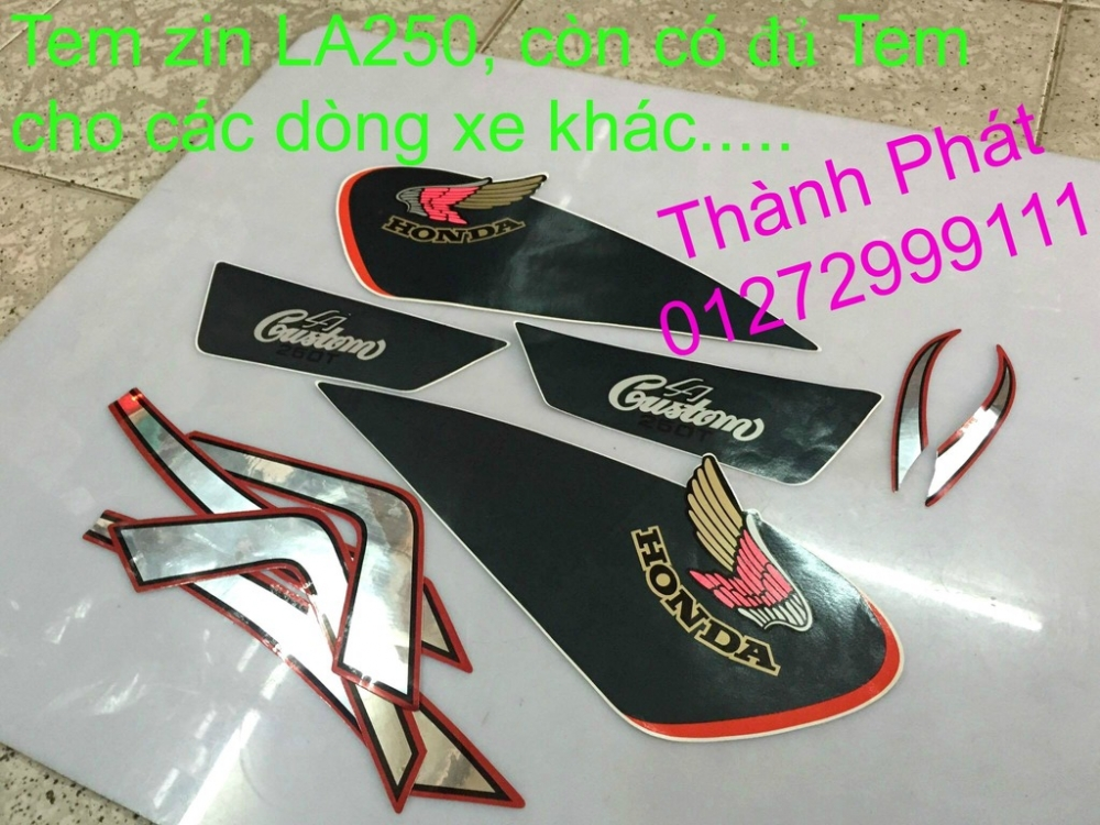 Chuyen phu tung zin va Sen Nhong Dia Honda CB250 CB125 RebeL LA 250 CD125 Yamaha Virago - 19