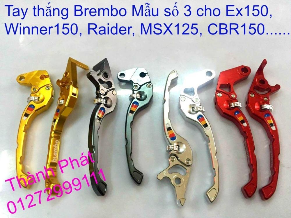 Do choi Exciter 150 tu A Z Po do Chan bun sau kieng kieu Bao tay Tay thang Xinhan kieu S - 13