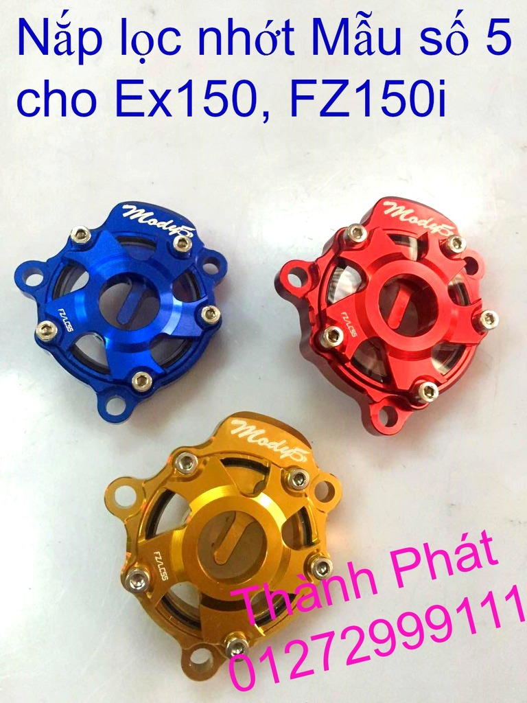 Do choi Exciter 150 tu A Z Po do Chan bun sau kieng kieu Bao tay Tay thang Xinhan kieu S - 12