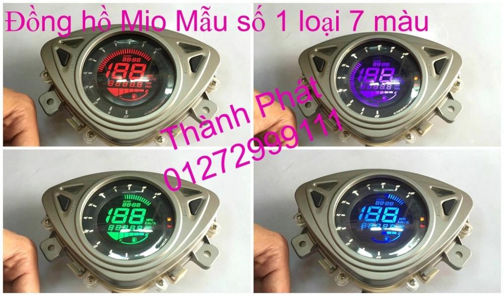 Dong ho KOSO Mio Dream SH X1R Ex 2013 2010 RX1N RX2 RX2N Koso DB03R DH Vapor va Minif - 32