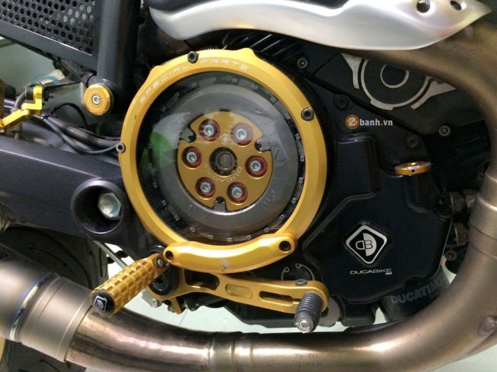 Ducati Scrambler do Cafe Racer day an tuong - 9