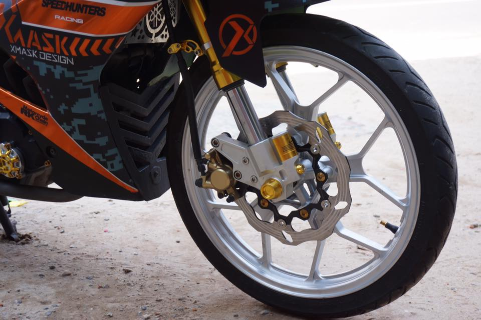 Exciter 150 day phong cach voi phien ban SpeedHunters Racing - 3