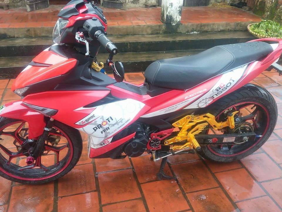 Exciter 150 do don gian cua biker Hung Yen