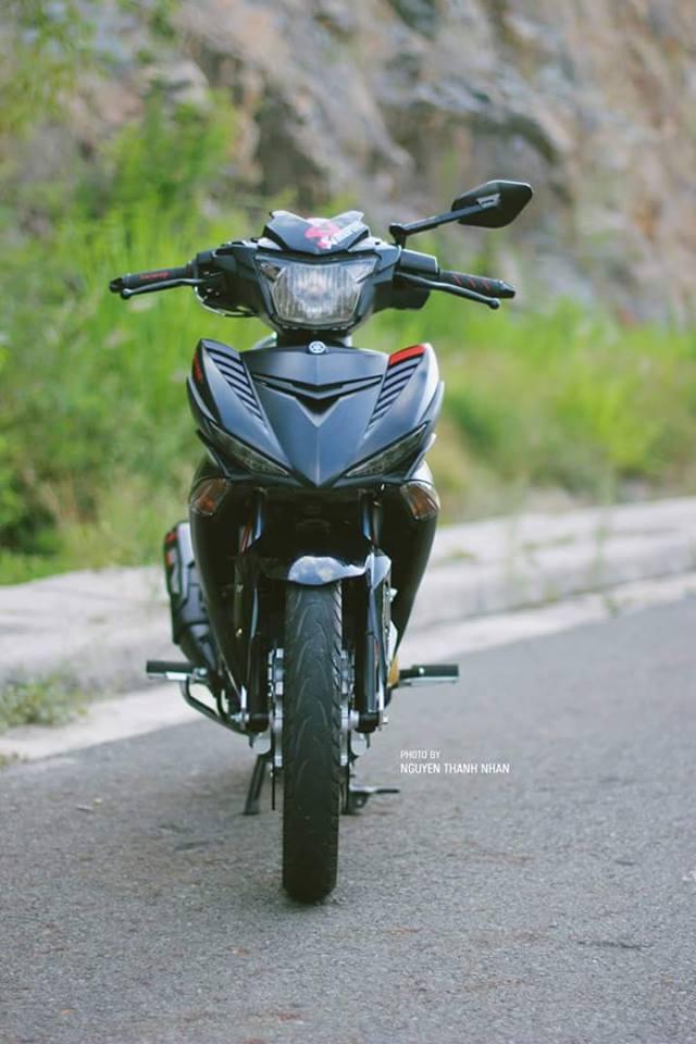Exciter 150 trang bi bo giap day an tuong cua biker Nha Trang - 2
