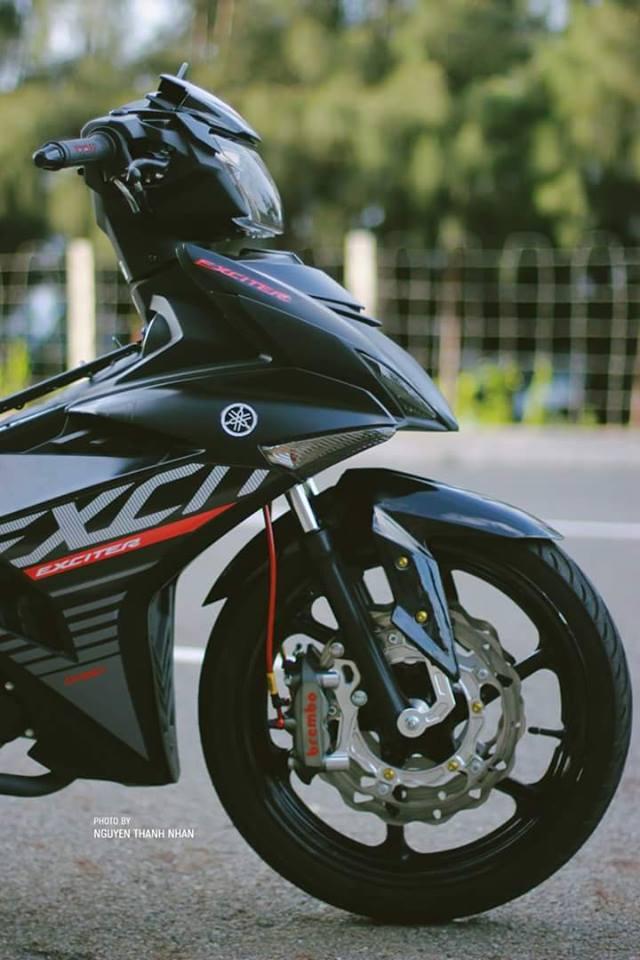 Exciter 150 trang bi bo giap day an tuong cua biker Nha Trang - 4