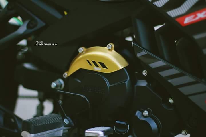Exciter 150 trang bi bo giap day an tuong cua biker Nha Trang - 6